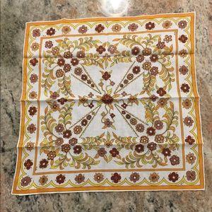 Vintage Emilio Pucci Cotton Handkerchief/Scarf